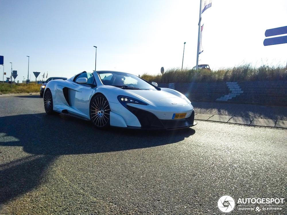 Spot van de dag: McLaren 675 LT Spider