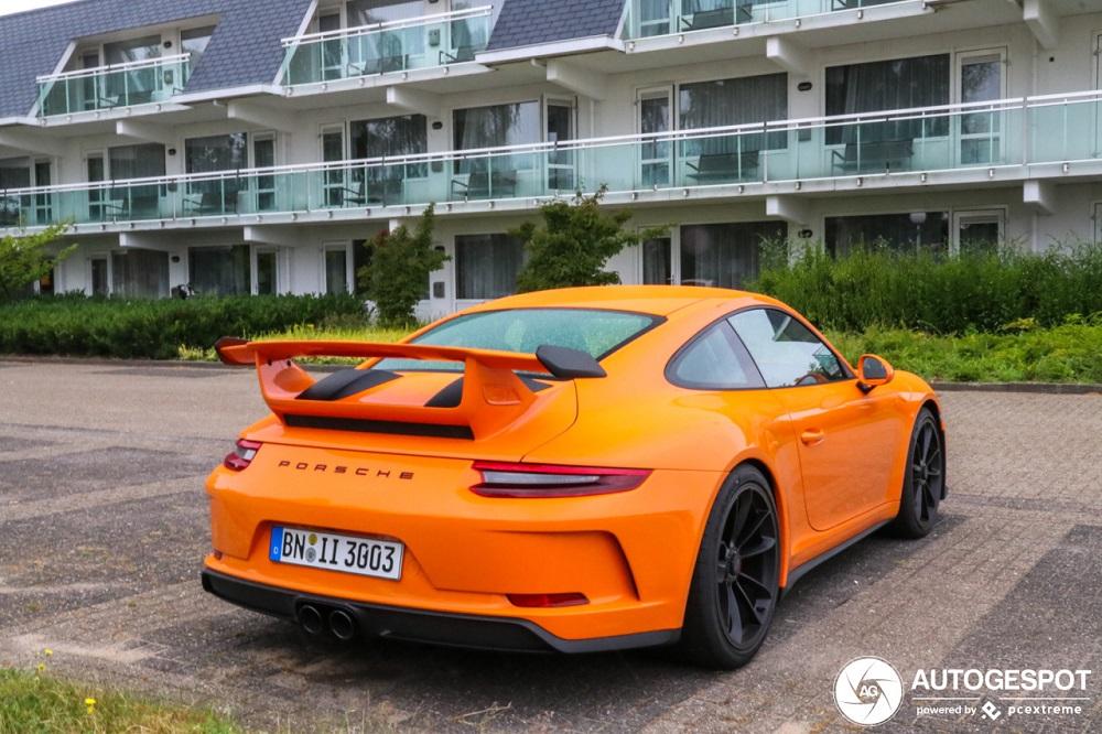 Spot van de dag: Porsche 991 GT3 MKII