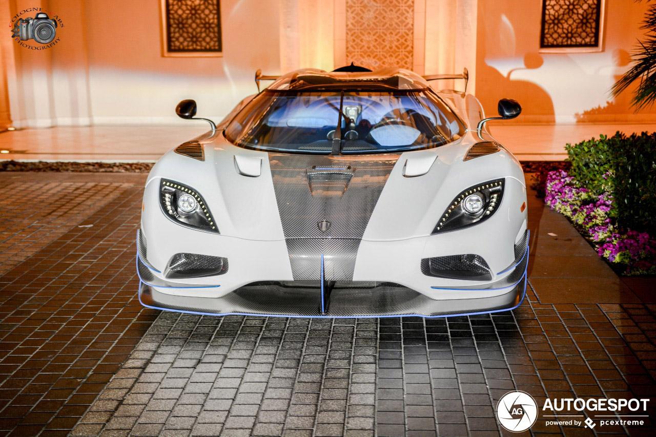 Koenigsegg Agera RS1 eindelijk gespot in Dubai