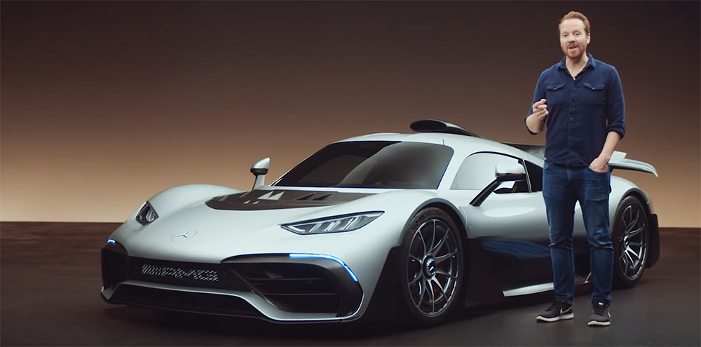 Filmpje: Top Gear vertelt je over de Mercedes-AMG ONE