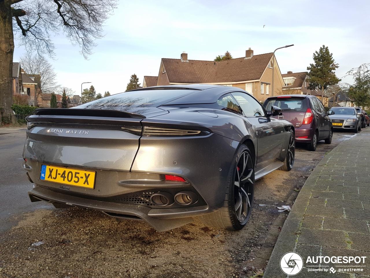Eerste Nederlandse Aston Martin DBS Superleggera gespot