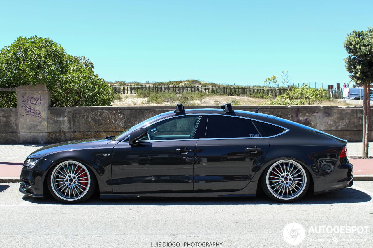 Audi S7 gaat voor de looks