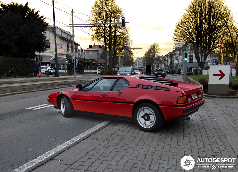 Gespot: de echte BMW M1