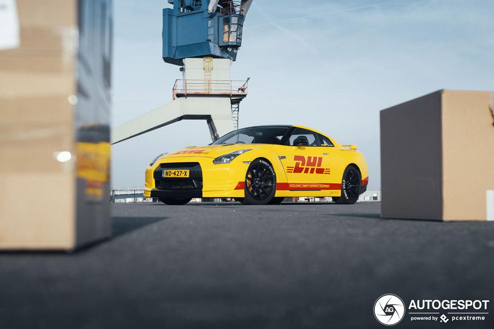 Snelle pakketbezorging op komst met Nissan GT-R