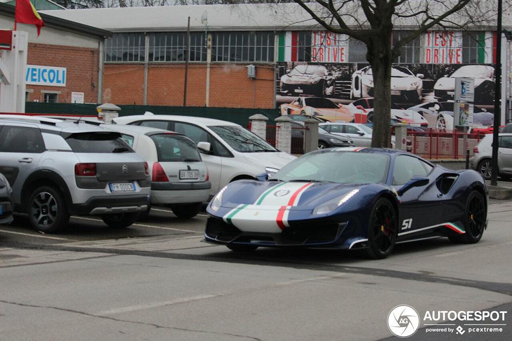 Eerste Ferrari 488 Pista Piloti is ook een feit