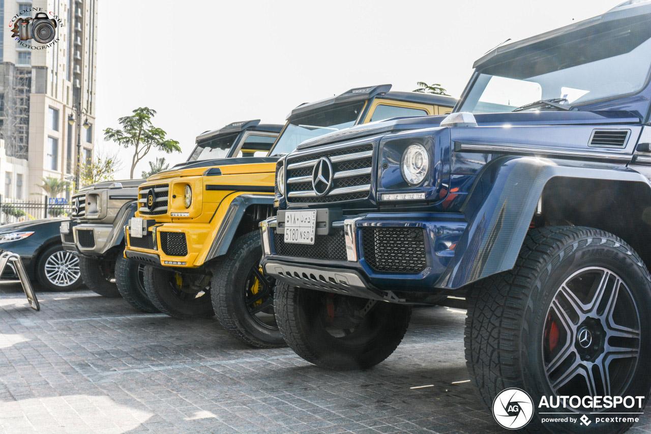 Mercedes-Benz G 500 4X4² valt niet echt op meer