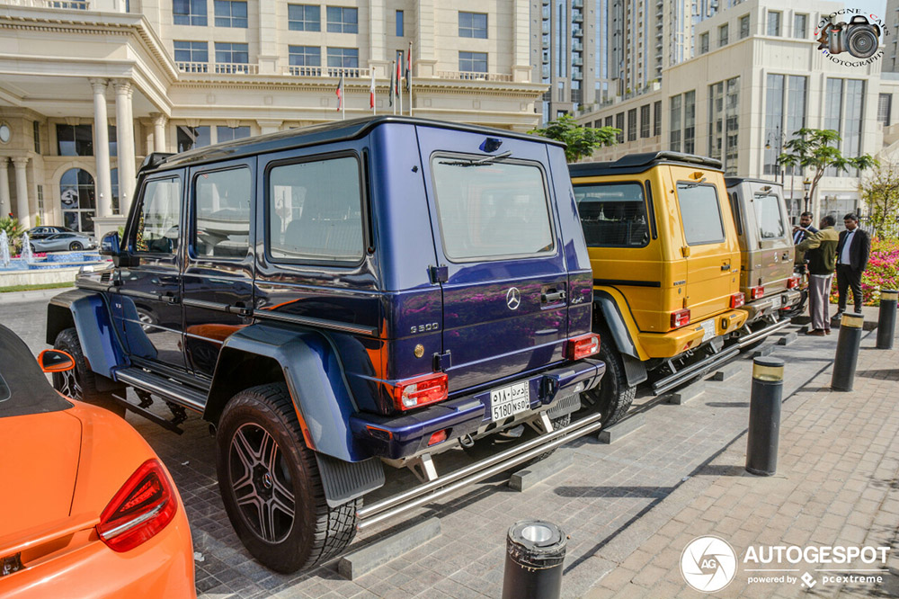 Mercedes-Benz G 500 4X4² valt niet echt meer op