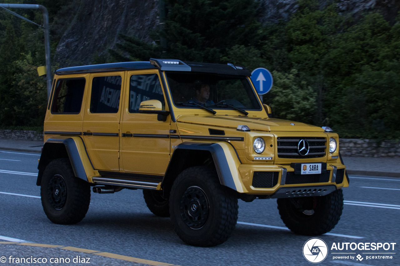 Mercedes-Benz G 500 4X4² in Andorra heeft persoonlijk tintje