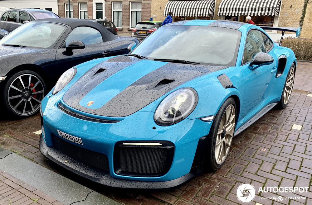Spot van de dag: Porsche 991 GT2 RS Weissach Package