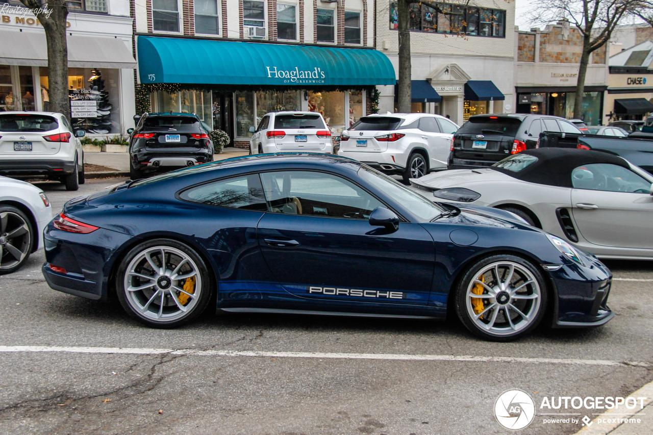 Kleurig weekend voor de Porsche 991 GT3 MkII Touring