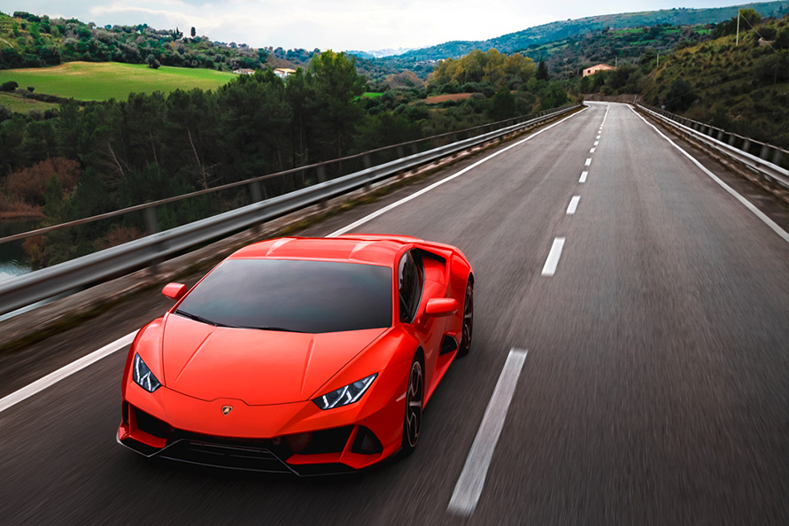 Huracán EVO is de GT3 Touring van Lamborghini?