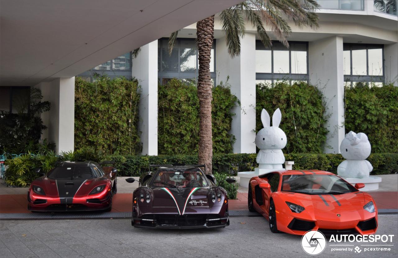 Waanzinnige combo gespot in Miami Beach