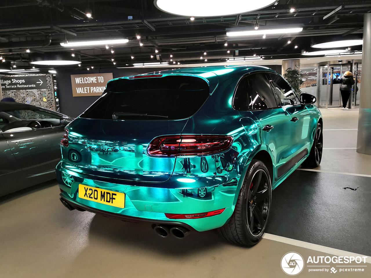 Alles behalve saai: chromen Porsche Macan GTS