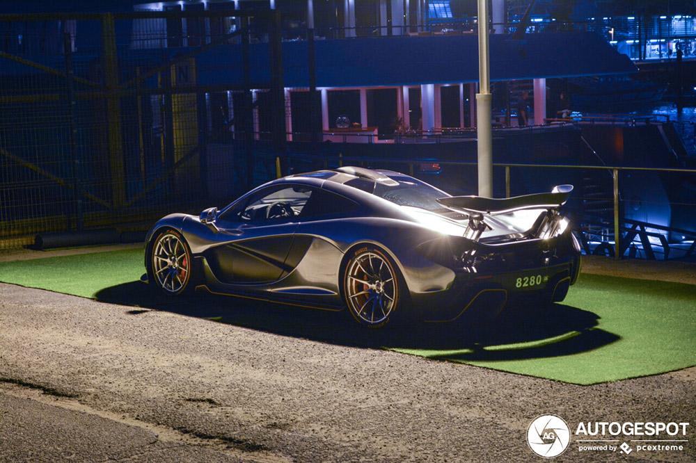 McLaren P1 staat in de spotlight