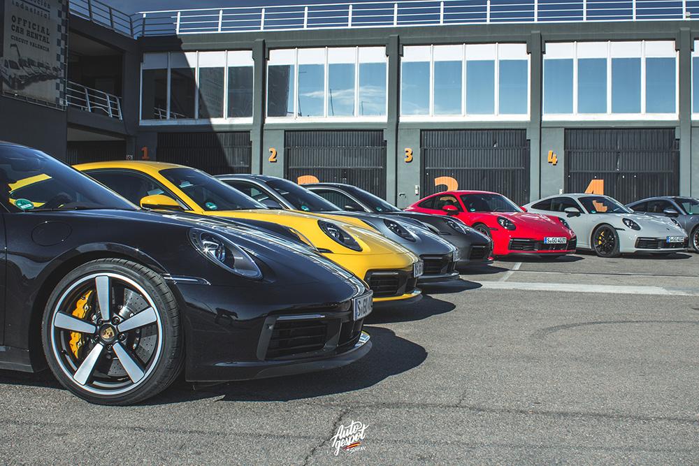 Eerste kennismaking Porsche 911 Carrera op Ricardo Tormo Circuit
