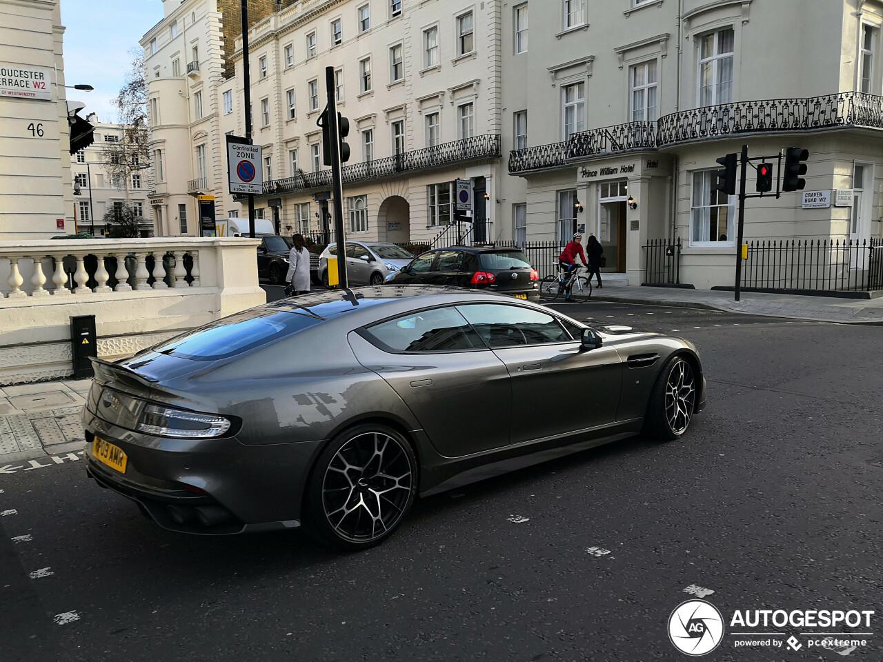 Aston Martin Rapide S AMR ziet er fris uit