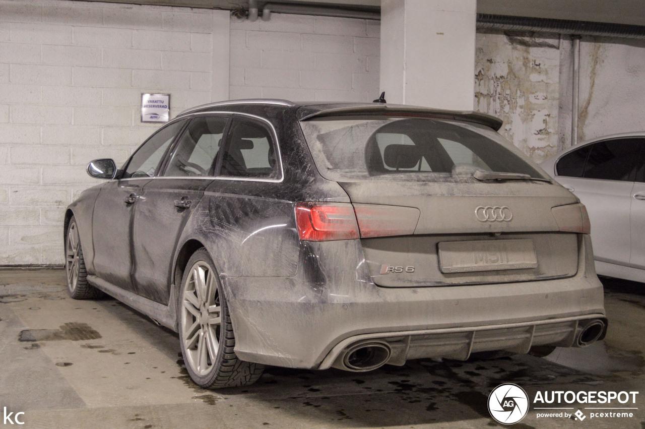 Audi RS6 Avant is flink misbruikt