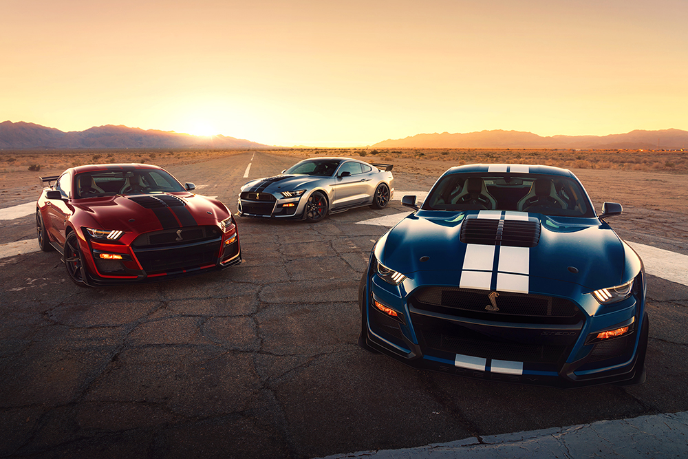 Most powerful street legal Ford in history: Shelby GT500