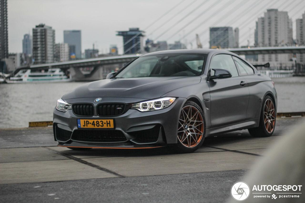 Spot van de Dag: BMW M4 GTS in 010