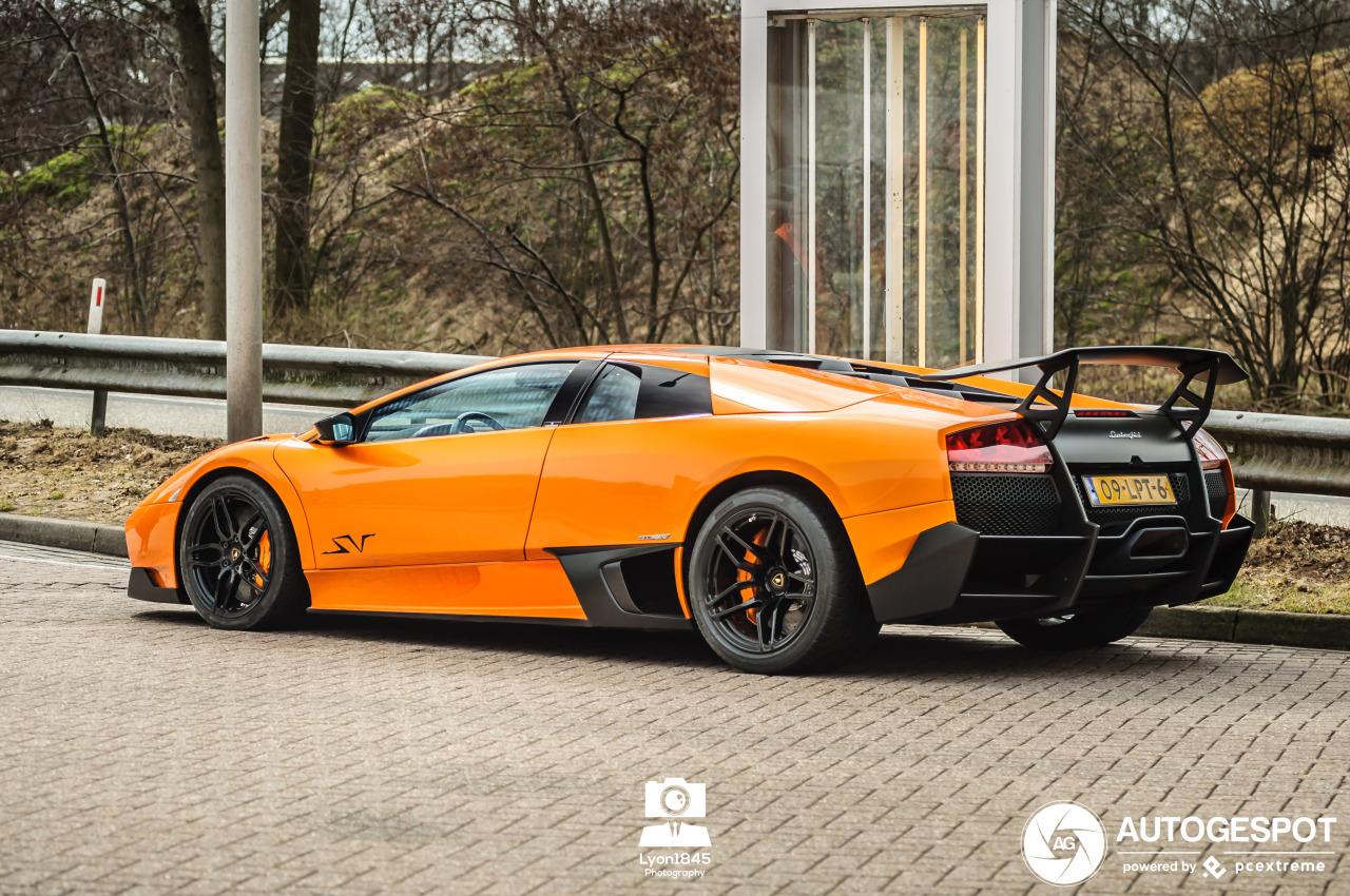 Spot van de dag: Lamborghini Murciélago LP670-4 SV