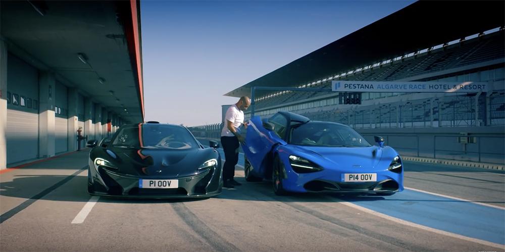 Filmpje: McLaren 720S tegen de McLaren P1