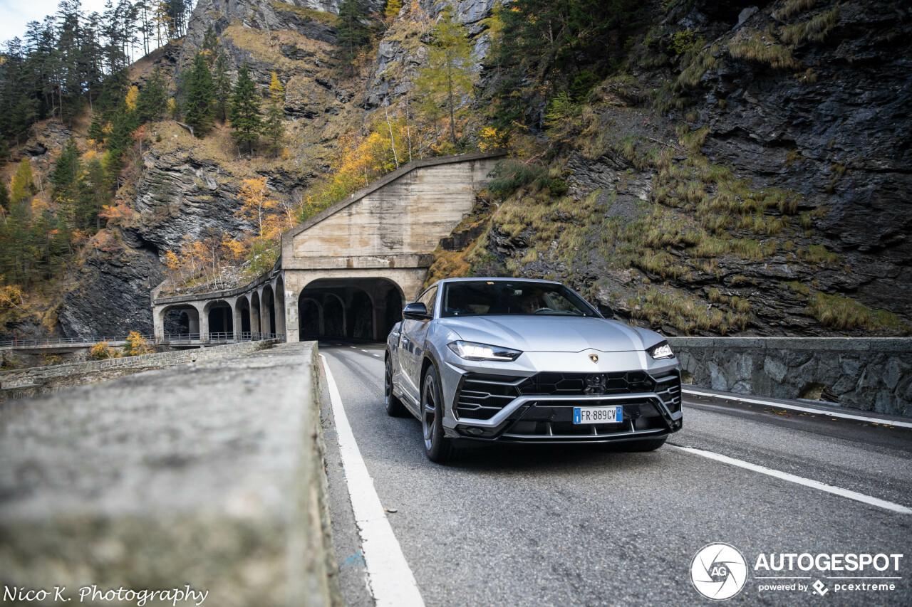 San Bernardino Pas maakt Lamborghini Urus mooier