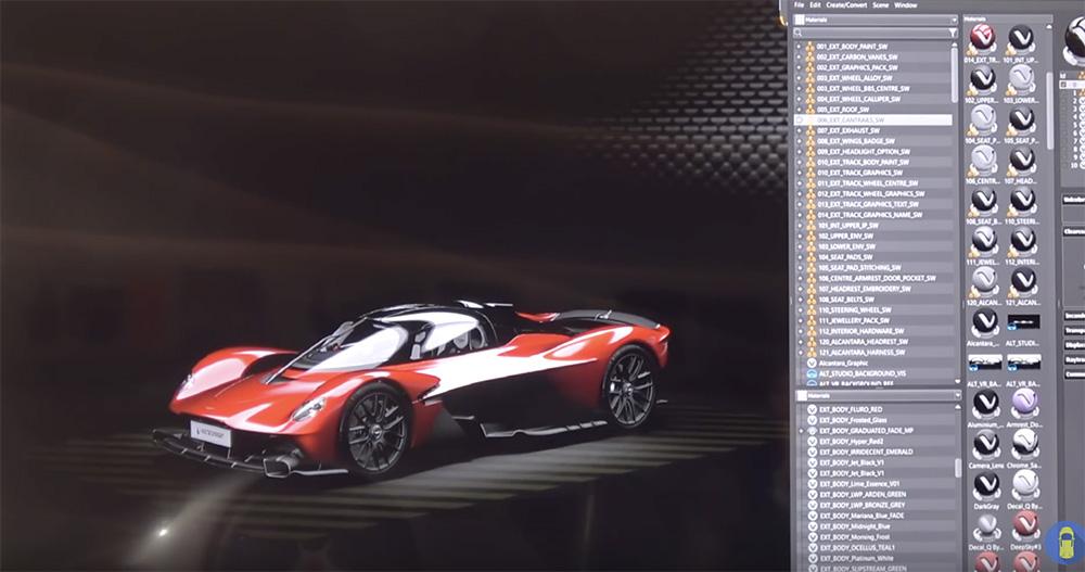 Filmpje: zo gaat het samenstellen van een Aston Martin Valkyrie