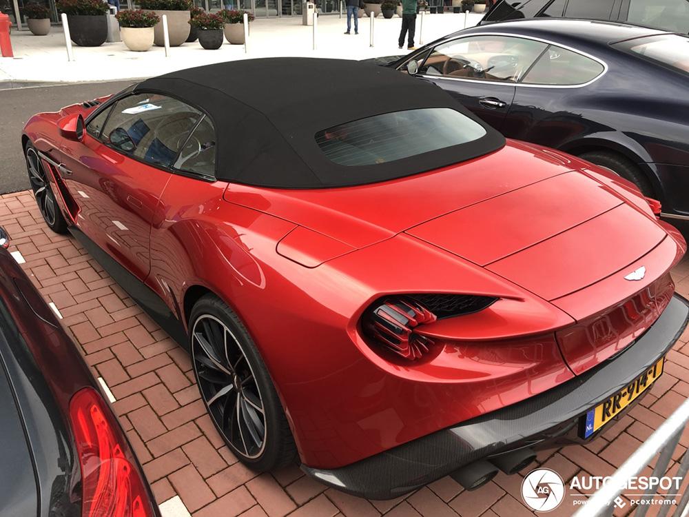 Spot van de dag: Aston Martin Vanquish Volante Zagato