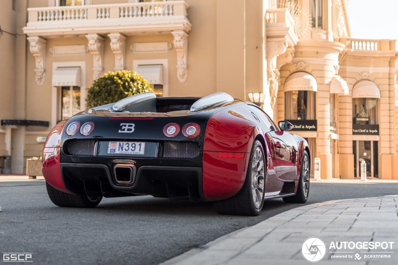Nieuwe Veyron gespot in Monaco, het kan nog!