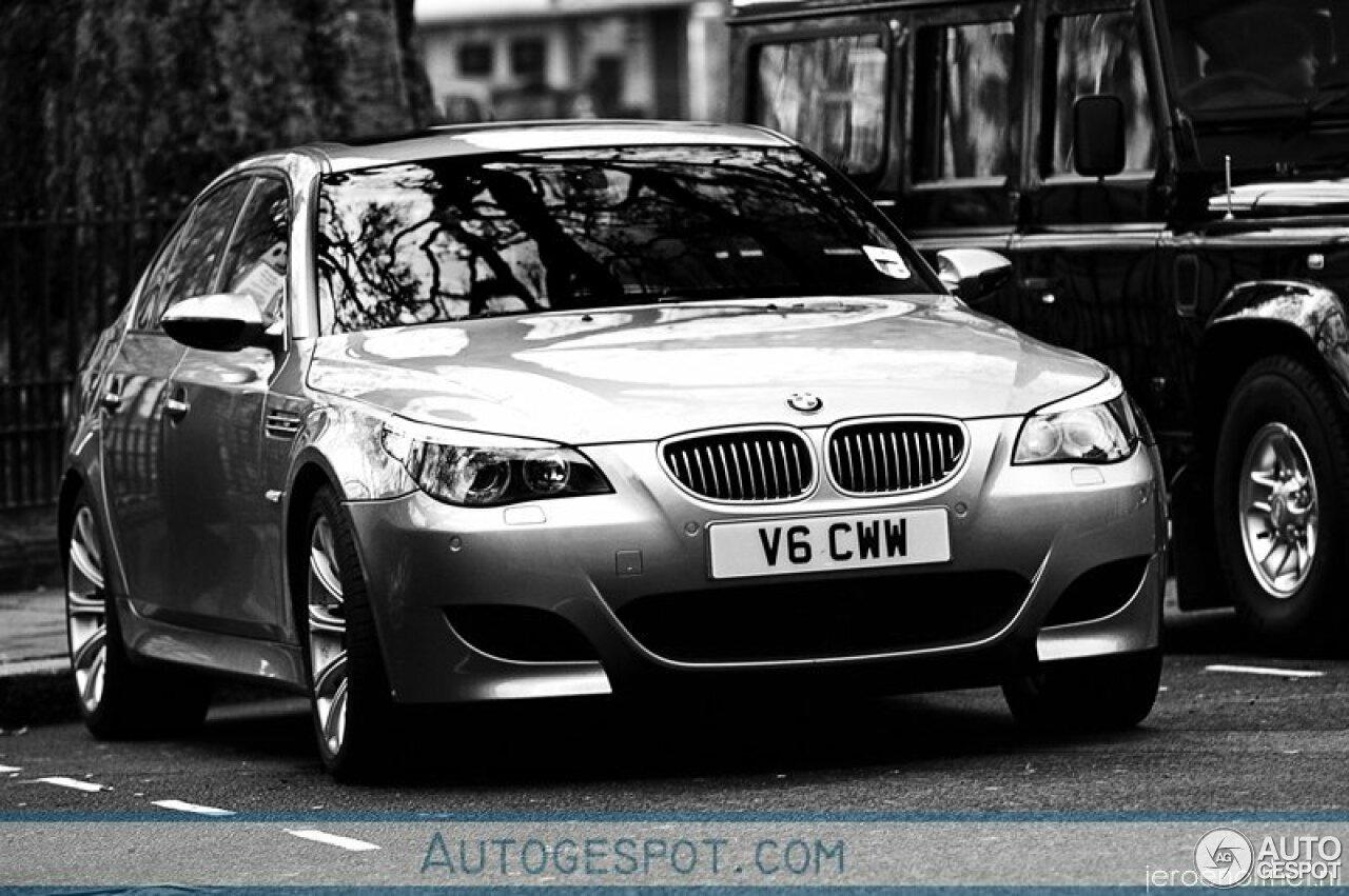 Vandaag tien jaar geleden: knappe foto's van een BMW M5 E60