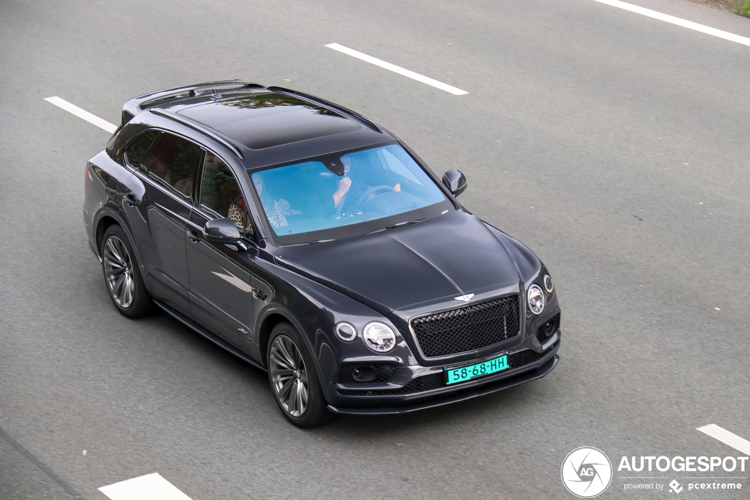Bentley Bentayga Speed voor het eerst in Nederland gespot!