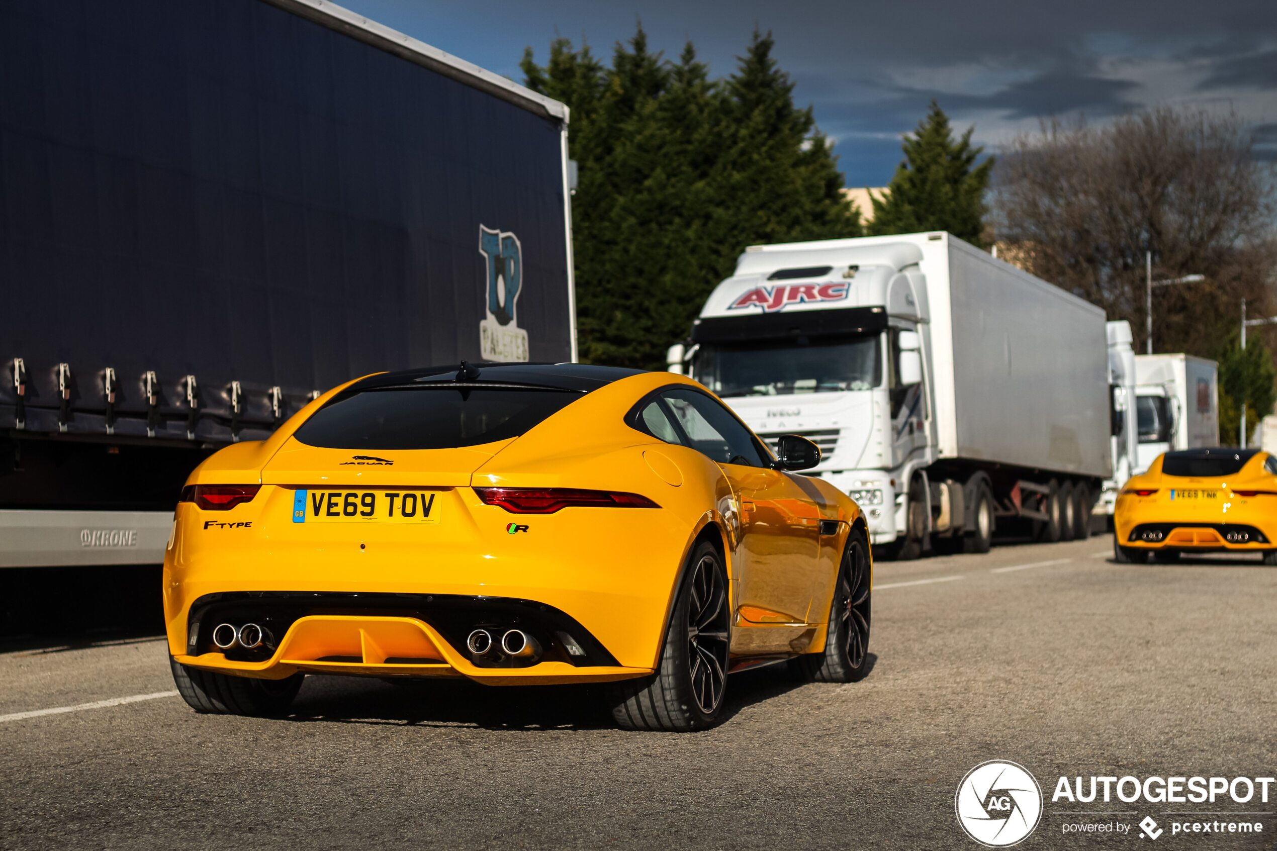 Primeur gespot: Nieuwe Jaguar F-Type R