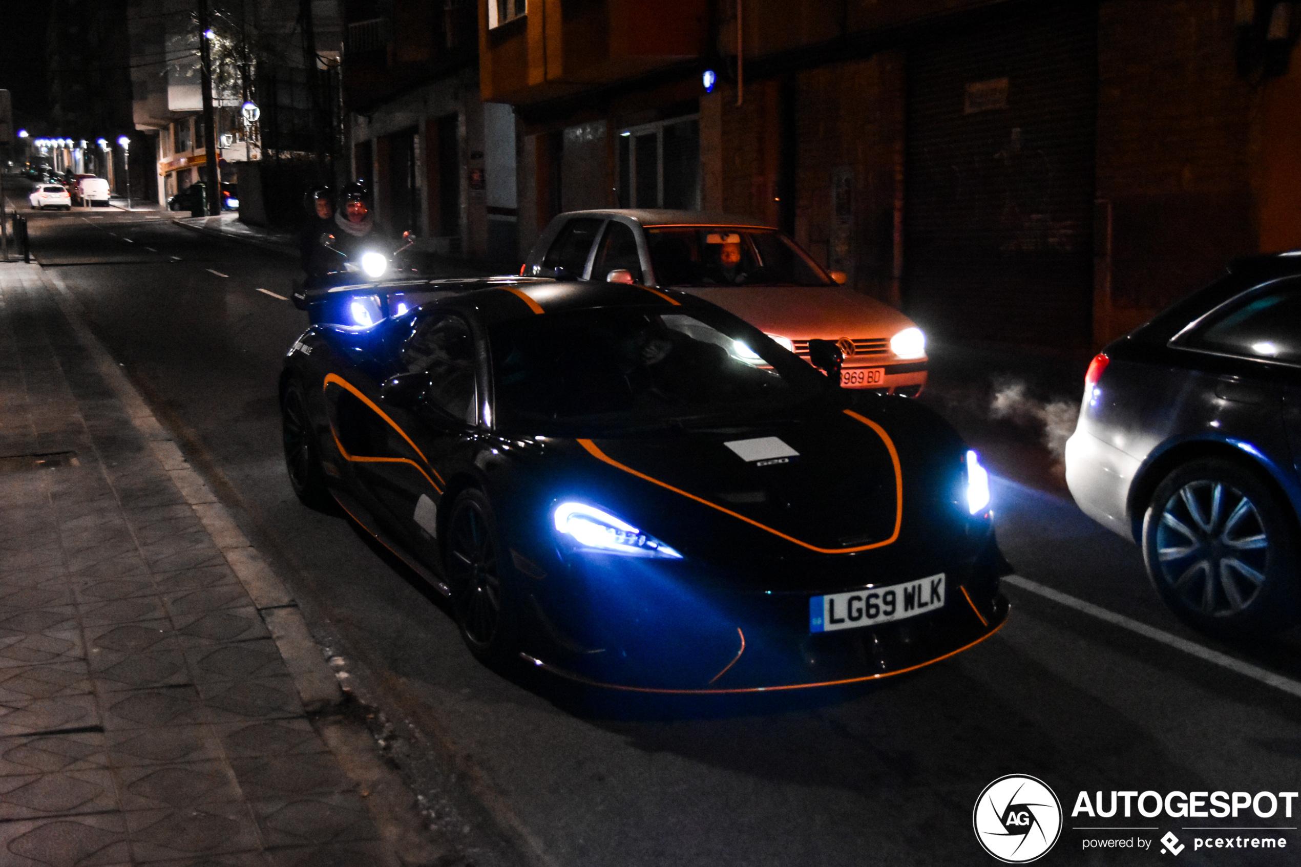 Nog een primeur: McLaren 620R!