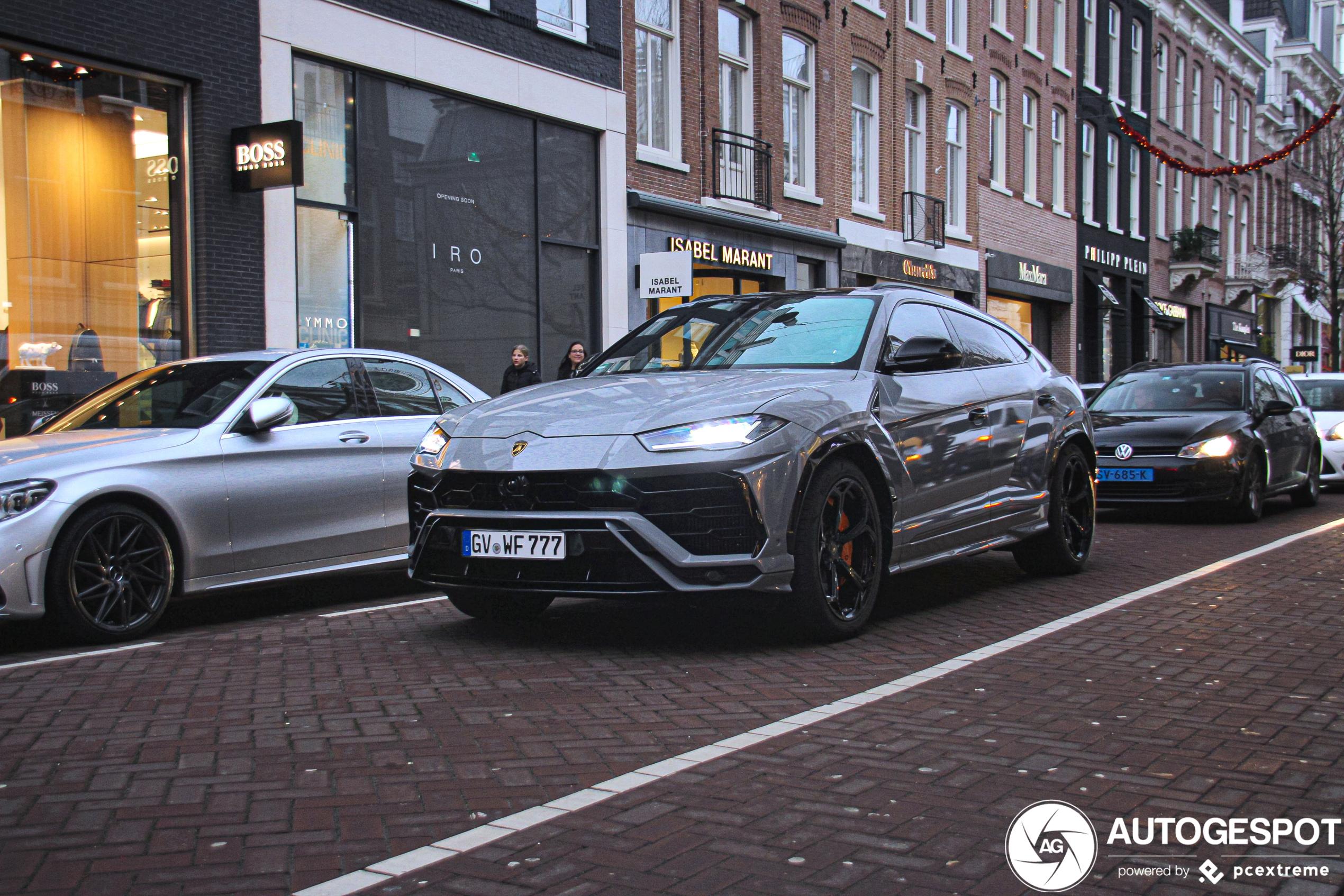 Spot van de dag: Lamborghini Urus