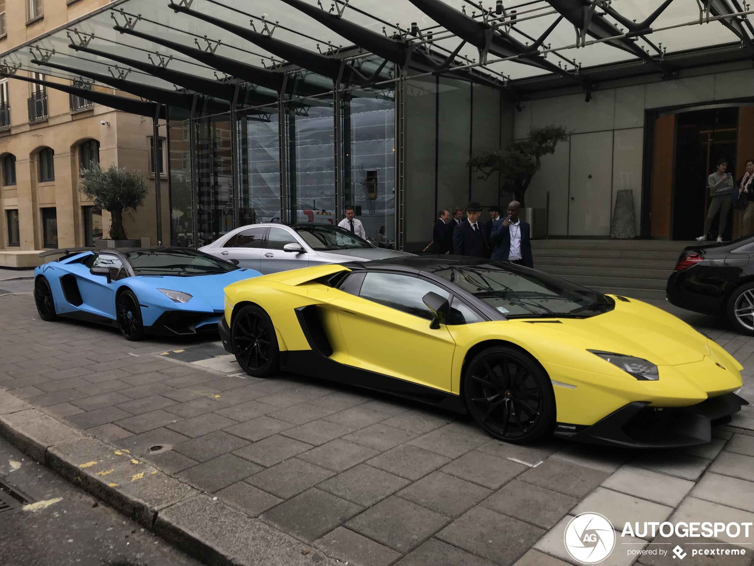 Welke van deze twee Aventadors doet jou het meest?