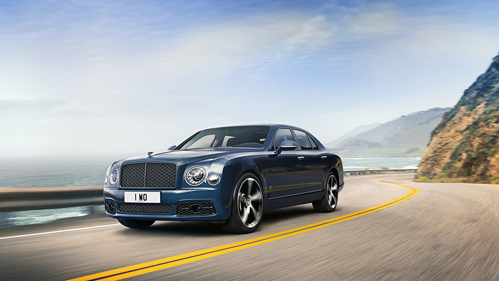 Bentley Mulsanne 6.75 Edition by Mulliner is uitzwaaimodel