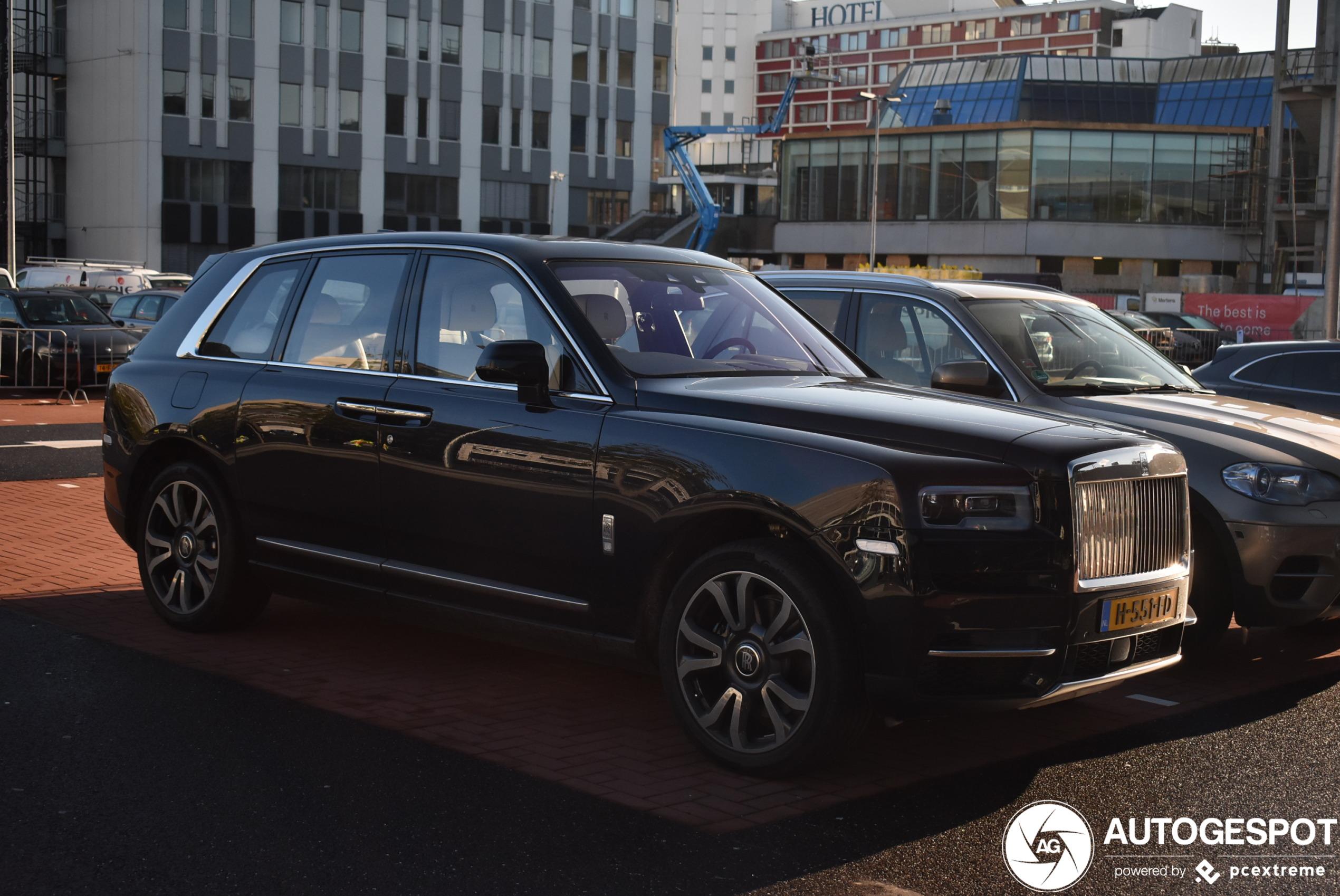 Nieuwe Rolls-Royce Cullinan moet meteen mee naar de beurs