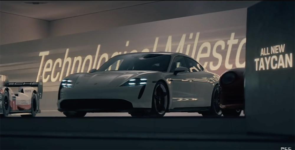 Filmpje: Porsche pakt flink uit met reclame voor Super Bowl