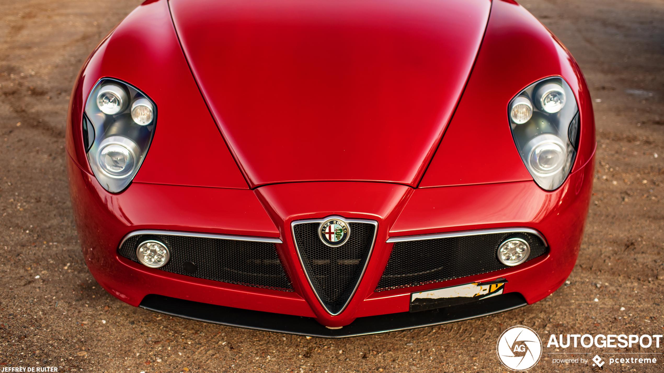 Alfa Romeo 8C Competizione na lange tijd weer gespot