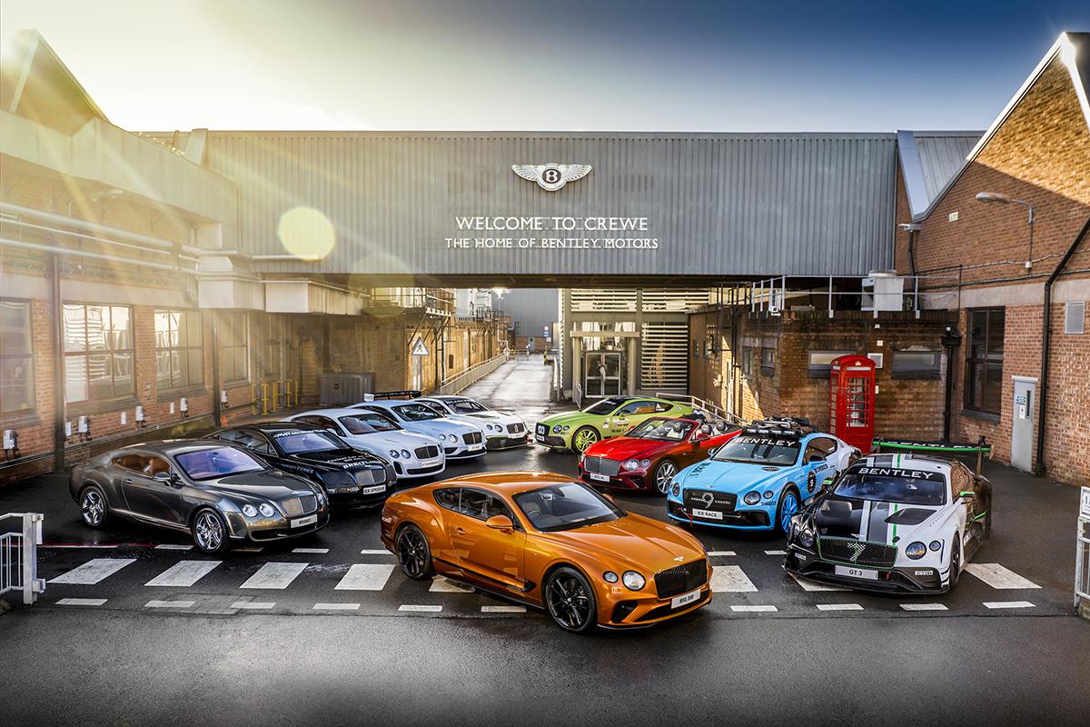 Bentley levert 80.000e Continental GT af