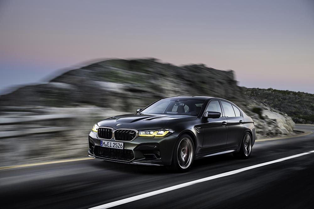 BMW breekt de week met de M5 CS