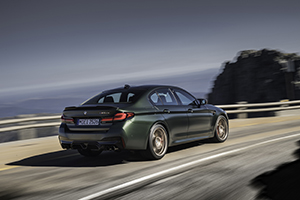 BMW launches the M5 CS
