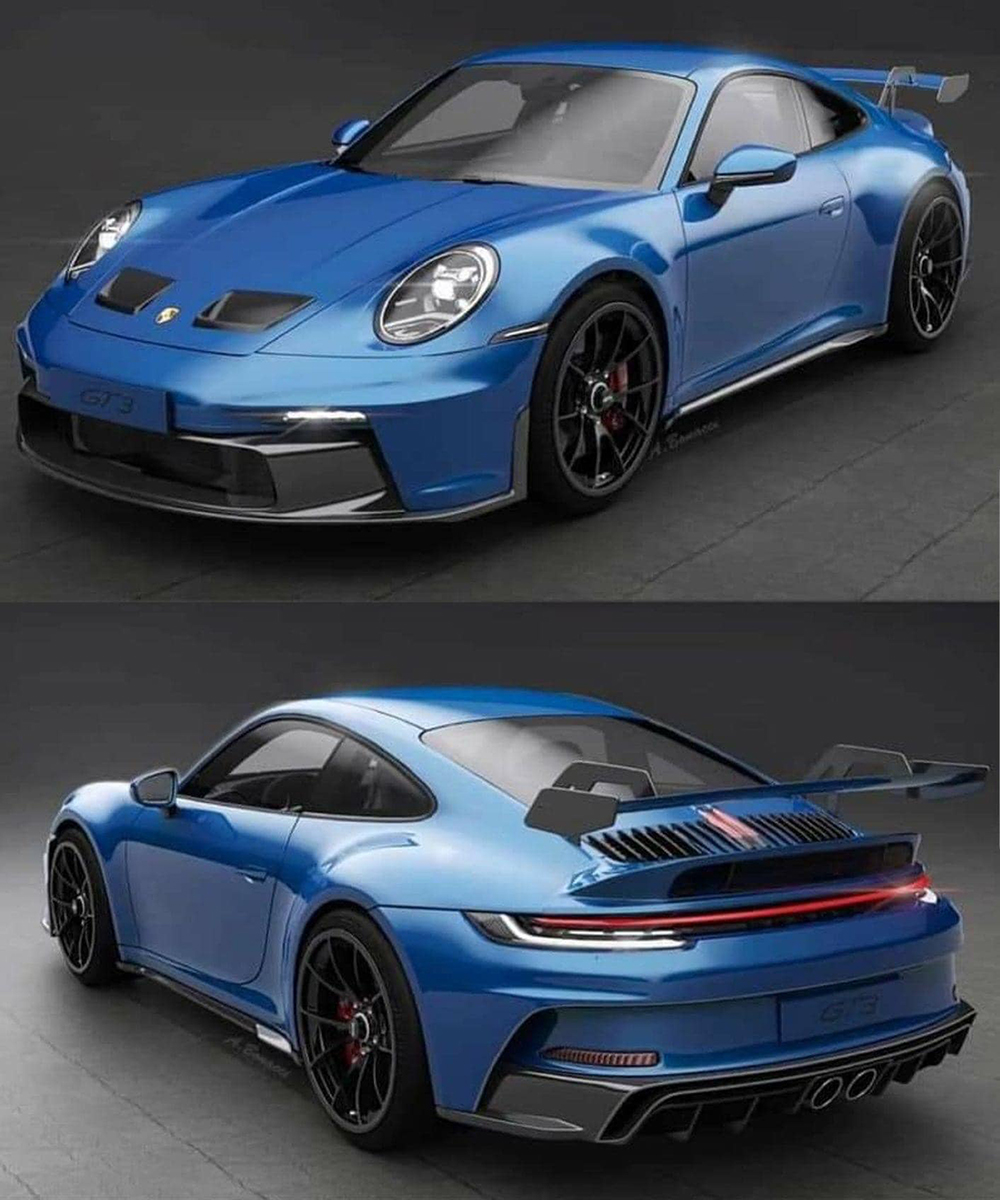 Are we looking at the real Porsche 992 GT3 now?