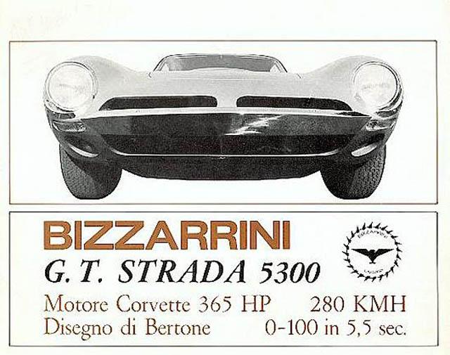 Bizzarrini Het Automerk Uit Livorno
