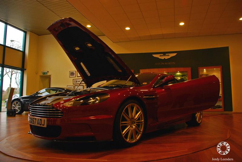 Aston Martin DBS in Nederland