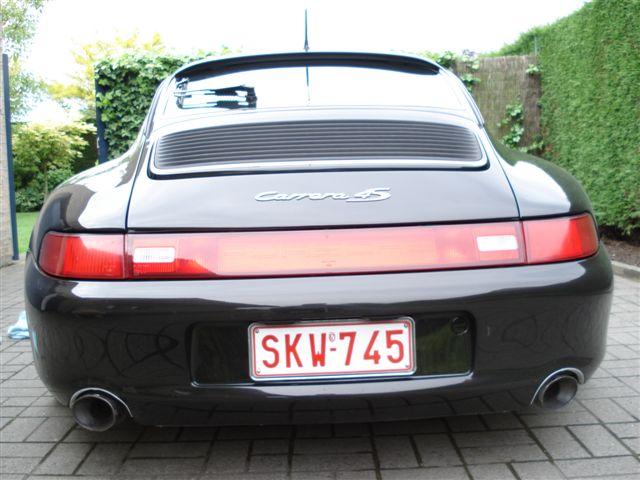 Gestolen Porsche 993 Carrera 4S