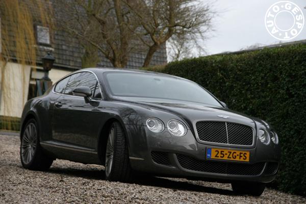 Fotoshoot: Bentley Continental GT Speed