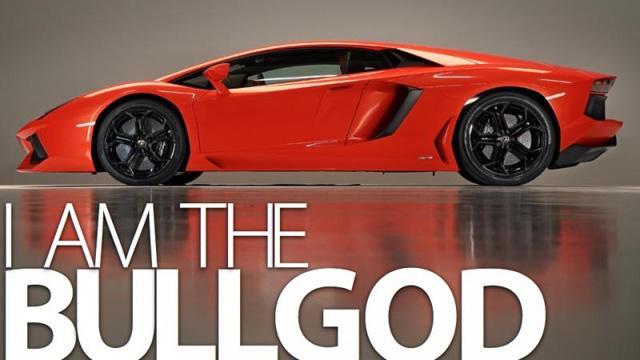 Dit is de Lamborghini Aventador LP700-4 van de zijkant!