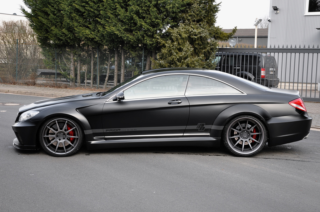 De mercedes benz cl klasse als black series prior design for Mercedes benz c550 for sale