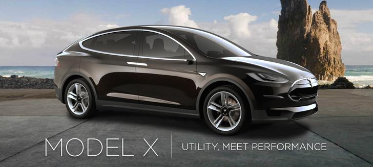 Tesla Motors Onthult De Model X